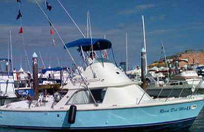 31ft rosa mar II charter tmb