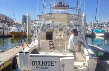 33ft quijote charter tmb
